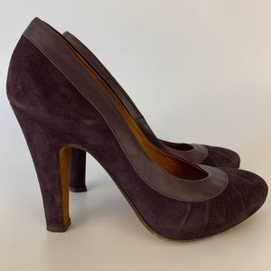 Steven Madden Purple Pumps